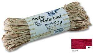 folia Raffia-Naturbast 50 g hochrot