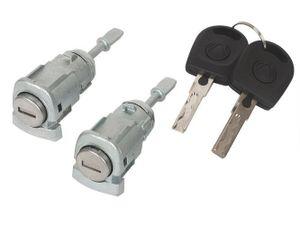 Türschloss VORNE LINKS + RECHTS 2x Schlüssel für VW Golf 4 IV Bora Lupo Polo 9N
