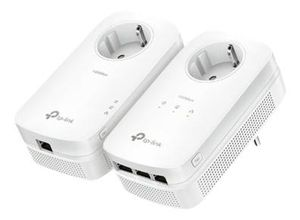 TP-LINK TL-PA8033P KIT - AV1300 Powerline KIT 1300Mbit, Farbe:Weiß