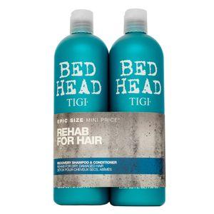 Tigi Bed Head Urban Antidotes Recovery Shampoo & Conditioner Shampoo und Conditioner für trockenes und geschädigtes Haar 750 ml + 750 ml