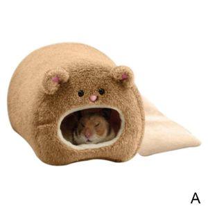 Pet Haus Nest Ratte Katze Hamster Warme Bett Kaninchen Bär Pet Spielzeug X7O2