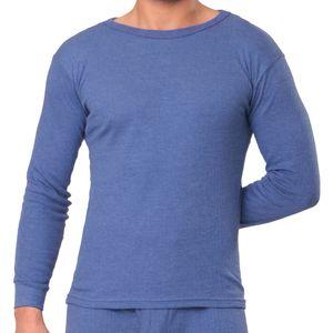 MT® THERMO LIGHT Herren Thermo Langarm Hemd Blau-XL