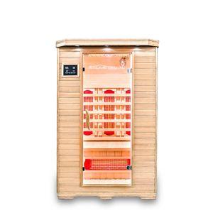 HOME DELUXE - Infrarotsauna REDSUN M mit Vollspektrumstrahler Infrarotkabine Wärmekabine Saunakabine Sauna