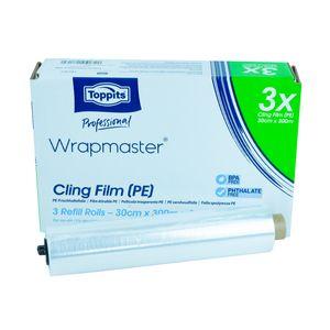 Wrapmaster PE 30cm Refiller besonders geeignet für Bäckerei- und Gastronomiebereiche