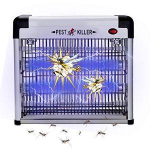 karpal Elektrischer UV LED Insektenvernichter, Insektenkiller Moskito Killer Insektenfalle Mueckenfalle, Mueckenlampe 12w, 50m2 fuer Schlafzimmer, Badezimmer