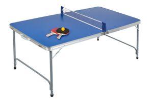 Idena Tischtennisplatte kompakt Set klappbar 160 x 80 x 70 cm