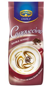 Krüger Family Cappuccino Double Schoko | 500-g-Beutel