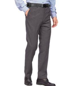 STUDIO COLETTI Anzug-Hose leichte Herren Business-Hose mit verdecktem Dehnbund Anthrazit, Größe:48
