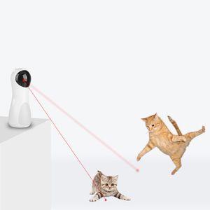 Cat Laser Toy Automatischer rotierender Laserpointer für Katzen Pet Training Exercise Chaser Tool
