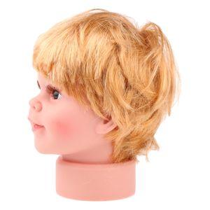 Kinder Junge Kopf Modell Schaufensterpuppe Mannequin Modellpuppe Kopf-Modell für Sonnenbrillen Make-Up Tattoo Kappen Anzeigen Größe - S