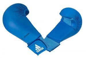 Faustschützer adidas WKF blau Größe - XL