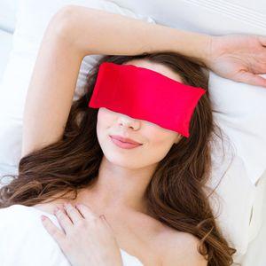 Yoga Augenkissen Dunkler Kreis Seidiges Augenkissen Lavendel + Leinsamen Gefš¹llt Perfekt fš¹r Yoga Natš¹rliche Schlafmittel Angst Linderung Meditation