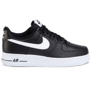 Nike Herrenschuhe Air Force 1`07 Sneaker Sportschuhe In Schwarz für Männer Größe 40