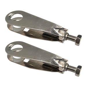 2x Fahrrad BATAVUS kettenspanner M5x55mm stahl mit muttern Øachsen 10.5mm