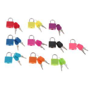 Mehrfarbige Montessori-Lehrmittel Zum Lernen Von Spielzeugschlössern Und -schlüsseln Mehrfarbig Tastensperre Schlösser und Schlüssel