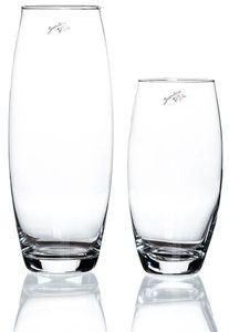 Glas-Vase Amaryllis, Größe :Ø8/H26