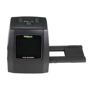 14MP/22MP Super 8 Negativfotoscanner Diafilmscanner, Farbe Schwarz