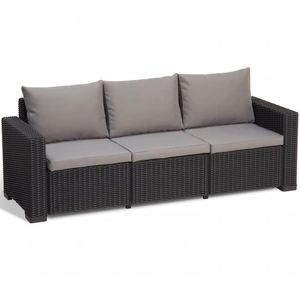 Allibert California Sofa 3, Anthrazit