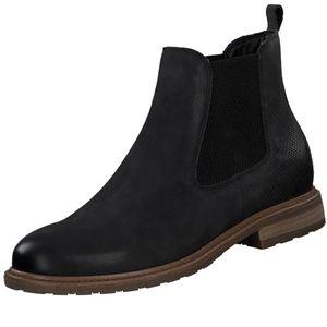 TAMARIS Damen Chelsea Boots Schwarz, Schuhgröße:EUR 39