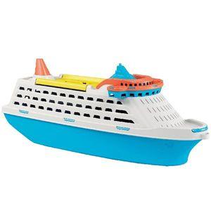 Adriatic Cruise, Blau, Weiß, Gelb, Boot, Innen/Außen, 40 cm