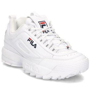 FILA Disruptor Low Damen Sneaker Schuhe Weiß, Größe:40