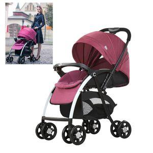 Kinderwagen Hohe Landschaft Sportwagen Kinderbuggy Faltbar Babywagen Spazierwagen für Babys bis 25kg 0-3 Jahre