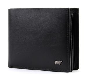 Braun Büffel Q Livorno Large Coin Wallet Black