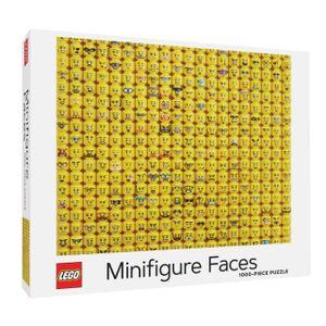 LEGO Minifigure Faces Puzzle. 1000 Pieces