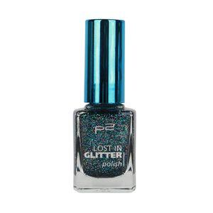 P2 Nägel Nagellack Nagellack Lost In Glitter Polish 833865, Farbe: 040 be cool!, 11 ml