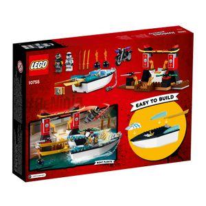 LEGO® Juniors Zanes Verfolgungsjagd mit dem Ninjaboot 10755