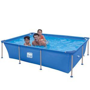 Wehnke Happy People 77517 Stahrahmen Frame Pool Planschbecken 258x179x66 cm