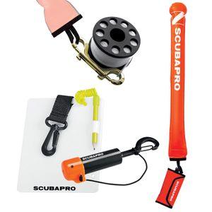Scubapro Sicherheits-Set Boje, Reel, Shaker, Schreibtafel