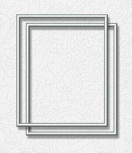 Noris Spiele Malen nach Zahlen - 2 x Alurahmen Silber 24 x 30 cm; 605220771