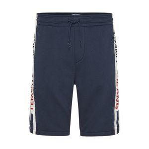 Tommy Jeans Herren Branded Tape Sweat Shorts, Blau L