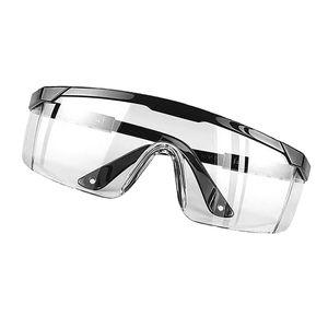Winddichte Fahrradbrille Outdoor Sonnenbrille Lab Safety Eyewear Staubdichte Farbe Schwarz