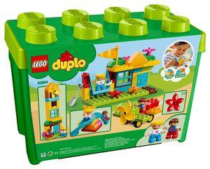 LEGO® DUPLO® Steinebox mit großem Spielplatz 10864