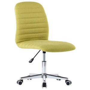 Bürostuhl Drehbar Schreibtischstuhl Chefsessel Grün Stoff