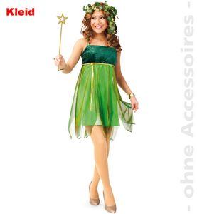 Damen Kostüm Fee Elfe Waldfee Karneval Fasching Gr.42
