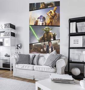 "Komar Digitaldruck Vlies Panel ""Star Wars Moments Rebels"" 120 x 200 cm, bunt, VD-026"