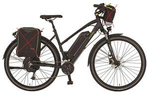 Prophete Alu Trekking E-Bike Entdecker Travel Poweredition Damen