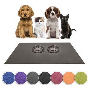 SanoZoo, die Napfunterlage!  -  Germany - Futtermatte für Hund & Katze 30 x 40 cm Schwarz