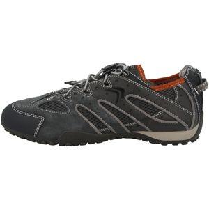 GEOX Snake Herren Low Sneaker Grau Schuhe, Größe:43