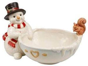 Goebel Weihnachten - Schneemänner Frostige Kameraden 'Weihnachtliche Leckereien - 11,5cm'