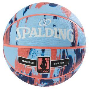 Spalding NBA Marble Damen Basketball Gr.6 mehrfarbig