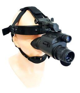 Gals russisches Nachtsichtgerät / Nachtsichtmonokular mit Kopfhalterung HMG17/F26 Gen. 1+ für Jäger / Outdoor
