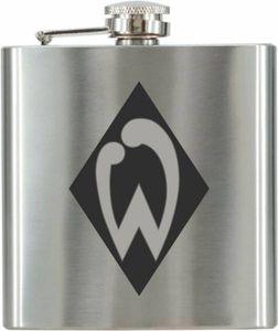Taschenflasche Flachmann Logo graviert SV Werder Bremen