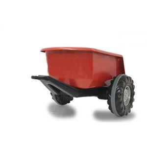JAMARA 460760 - Spielzeug-Traktoranhänger - Schwarz - Rot