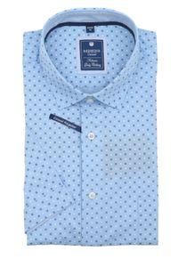 Redmond - Regular Fit - Herren kurzarm Hemd mit kent Kragen und Brusttasche (201060999), Größe:XL, Farbe:Blau(10)