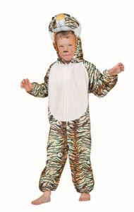 Kinder Kostüm Tiger Tigerkostüm Karneval Fasching Gr.92