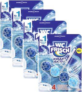 WC-Frisch Kraft Aktiv 4er Pack Duftspüler Frische Brise 4x1 Stück WC-Reiniger